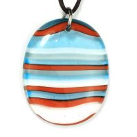 Striped oval